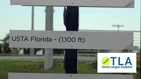 Florida USTA tennis league stats